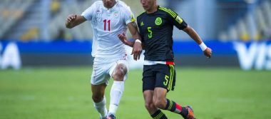 México eliminado del Mundial sub 17 tras perder 2-1 contra Irán