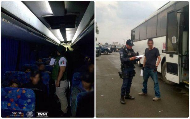 Rescata PF a 105 migrantes centroamericanos en Amatitán