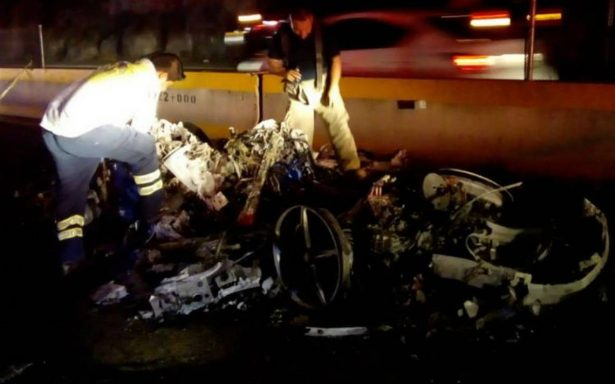 """""""No me dejen morir"""", colombiana suplica ayuda tras choque del Ferrari"""