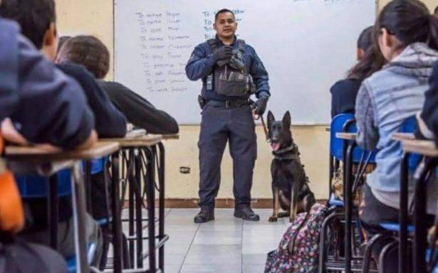 Cachan a menor de edad con arma en secundaria de Tijuana
