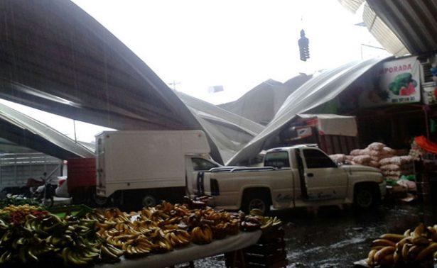 Azota en Oaxaca torrencial lluvia