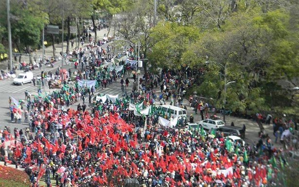 Manifestantes complicarán tránsito vial en el centro de la ciudad
