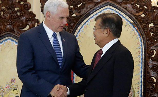 """Mike Pence pide a Indonesia relación comercial de """"ganar-ganar"""""""