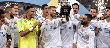 Sin CR7, Real Madrid alza la Supercopa de España
