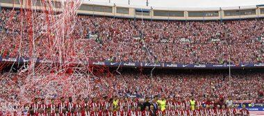 Emotivo adiós en el Vicente Calderón
