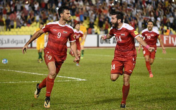 Siria y Australia empataron 1-1