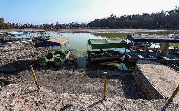 Sismo del pasado 19 septiembre seca el lago en Tláhuac