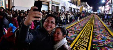 Participan miles de feligreses  en Huamantla