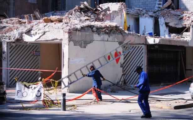 Destinan 500 mdp para reconstruir 11 inmuebles afectados por el sismo en la CDMX