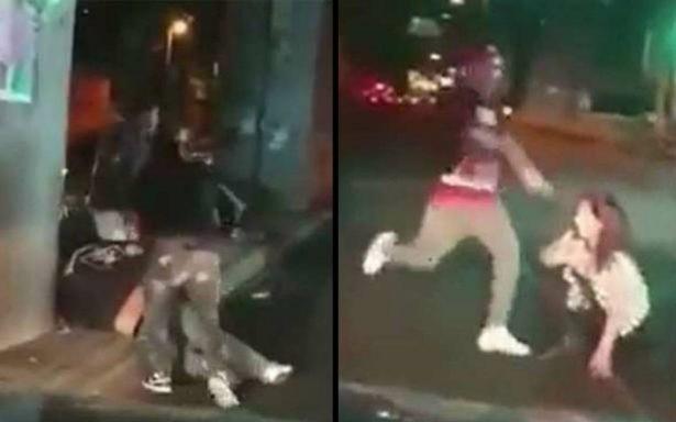 [Video] Grupo de hombres golpean brutalmente a pareja en Tláhuac