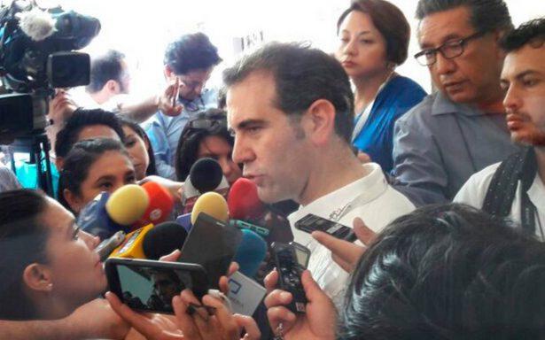 Nos preocupa la inseguridad, pero no es impedimento para realizar elecciones:  Lorenzo Córdova