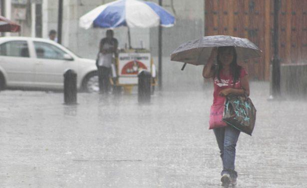 Persisten condiciones de lluvias en noreste, centro y sur de México