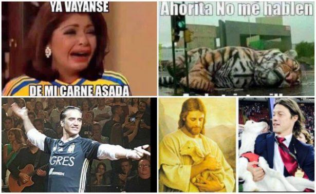 Memes celebran el triunfo de Chivas ante Tigres