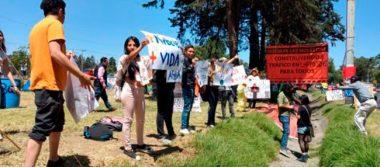 [Video] Botellita de Jerez se suma a protesta contra la tala de árboles