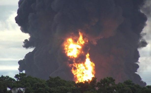 [Video] Refinería de Pemex en Salina Cruz registra nueva explosión
