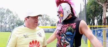 Psycho Clown invitado al entrenamiento águila