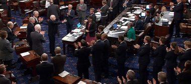 Senado de EU aprueba sanciones contra Rusia, Irán y Corea del Norte