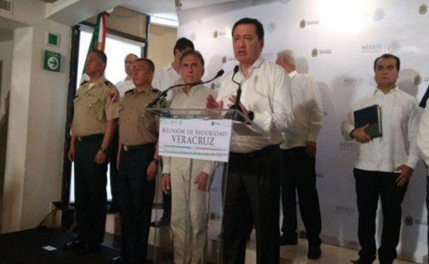 Llegarán más elementos de la Policía Federal a Veracruz: Osorio Chong