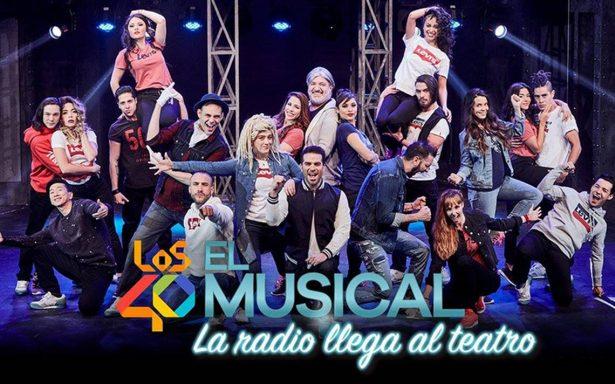Los 40 principales el musical  contempla éxitos de Reik, Camilla, Miguel Bose, entre otros
