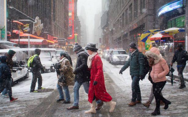 Ola de frío en EU cobra la vida de tres personas en fin de año