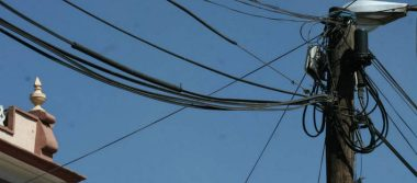Atrapan a 5 sujetos mientras robaban cable de TELMEX en Naucalpan