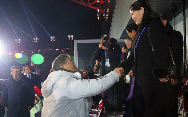 """Hermana de líder de Corea del Norte realiza visita histórica a Corea del Sur para los """"Juegos de la Paz"""""""