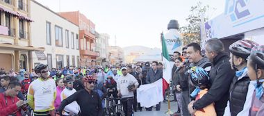 Omar Fayad participó en primera rodada organizada por Coparmex