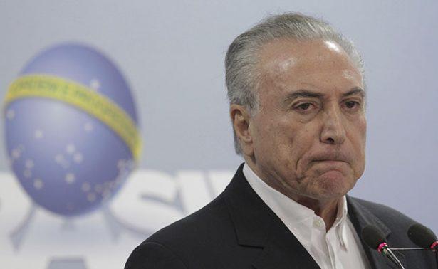 """No renunciaré a presidencia de Brasil, destitúyanme si quieren"": Temer"