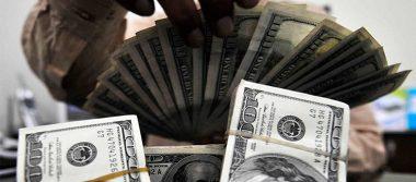 Dólar alcanza precio máximo de 18.87 pesos en bancos capitalinos