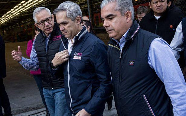 Mancera reitera que no declinará ni será factor que rompa el Frente Ciudadano