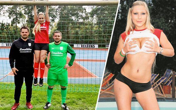 Equipo alemán ficha a una estrella porno… como su patrocinadora