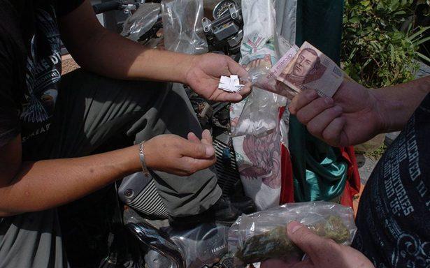 Crece narcomenudeo 87% en un año en la Ciudad de México