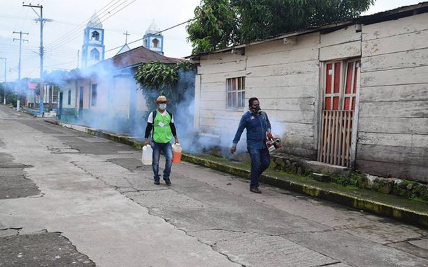 Se niega población a fumigar por dengue