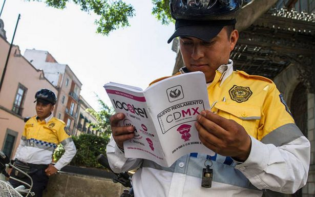 Estos son los únicos policías autorizados para infraccionarte en la CDMX