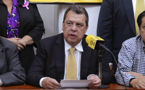 Ángel Aguirre retirará solicitud de candidatura a diputado federal por Guerrero