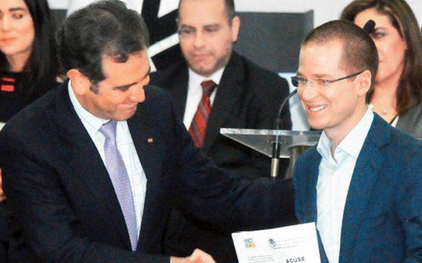 INE exige a gobernantes no intervenir en elecciones 2018
