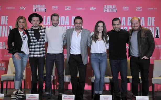 """El filme """"La boda de Valentina"""" buscan romper fronteras"""