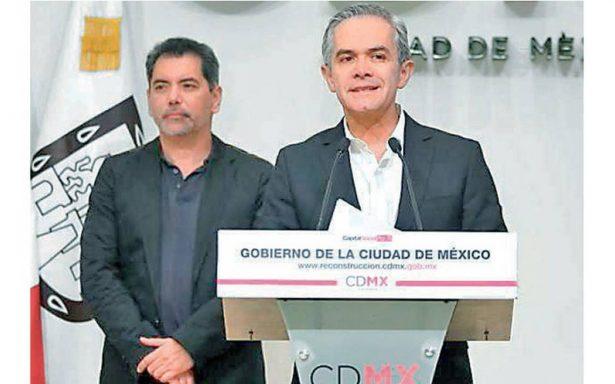 Miguel Ángel Mancera busca delimitar manejo de los recursos