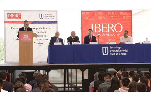 Tecnológico Universitario del Valle de Chalco se incorpora a la IBERO