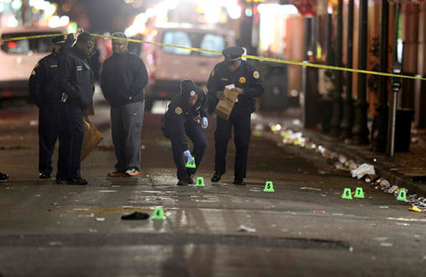 Tiroteo en Nueva Orleans deja al menos un muerto y nueve heridos