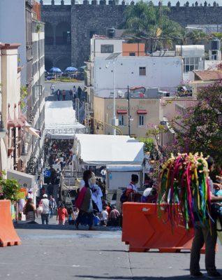 Cierra Demédicis  el Centro Histórico