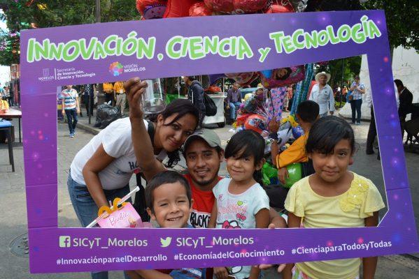 Talleres de ciencia y tecnología en la #EconoZonaCuernavaca
