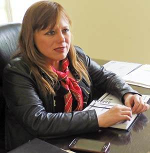 Rinde Ana Bertha Haro informe a once meses de su gobierno