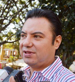 Juan Carlos Salgado Ponce, secretario de Economía / Foto: FROYLÁN TRUJILLO