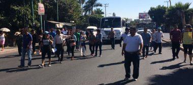 Marchan en Cuernavaca contra el gasolinazo