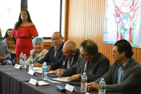 El IEBEM y la CDHMorelos firman convenio para erradicar violencia en las escuelas