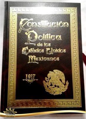 Exhibirán una copia facsímil de la Constitución Política de 1917