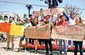 Protestan periodistas por asesinatos de compañeros
