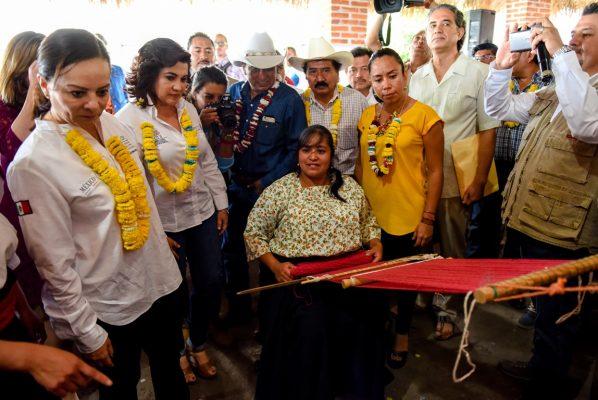 Ratifica Morelos compromiso con comunidades indígenas