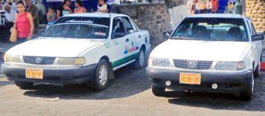 Buscan taxistas estrategias para evitar invasión en rutas